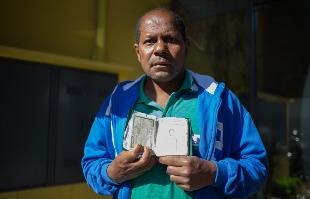 Mastrangelo Reino / A Cidade - Morador de Sertãozinho, Luiz Correa disse que há três meses não consegue nem bico para trabalhar na cidade