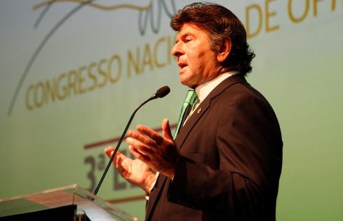 O ministro do Supremo Tribunal Federal Luiz Fux participou do evento; veja mais fotos na galeria (foto: Murilo Corte / ME) - Foto: Murilo Corte / ME