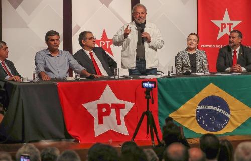 Ricardo Stuckert - Lula será o possível candidato do PT na eleição do ano que vem