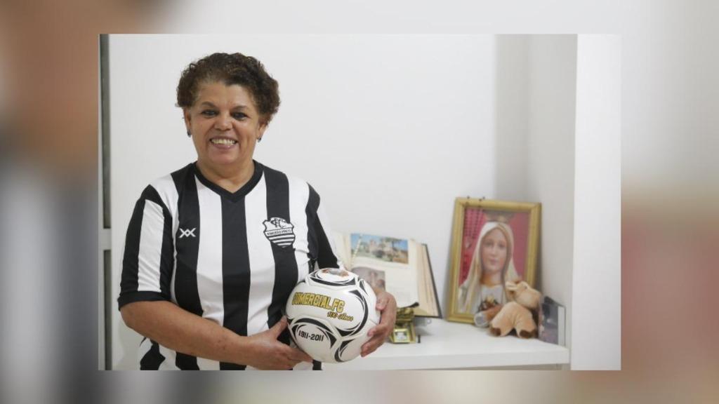 Em 2018, Lurdinha demonstrou todo o amor pelo Comercial em entrevista ao ACidade ON (Foto: Matheus Urenha / ACidade ON) - Foto: Divulgação / Redes Sociais