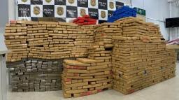 Polícia de Americana apreende mais de uma tonelada de maconha
