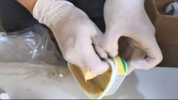 Agentes do CPP apreendem maconha sintética em pote de margarina