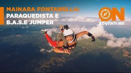 Paraquedista e BASE jumper iniciante conta como começou