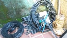 Suspeito é preso por furto de cabos em Americana
