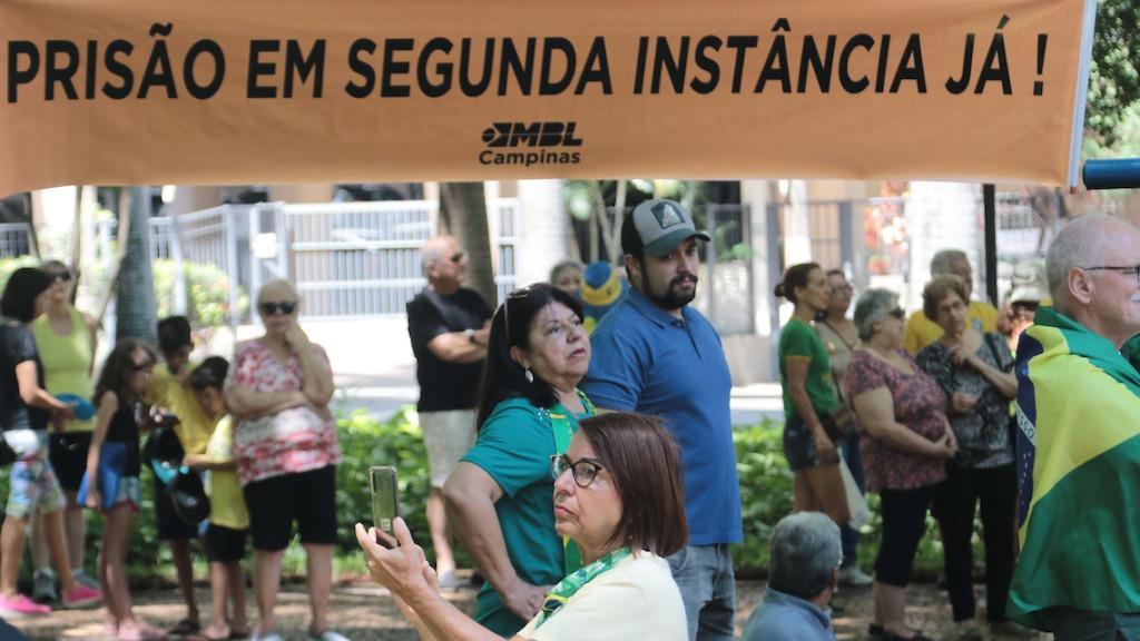Manifestantes protestam contra decisão do STF (Denny Cesare/ Código 19) - Foto: Denny Cesare/ Código 19