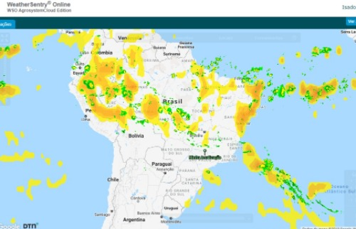 Plataforma oferece solução para que os agricultores obtenham previsões meteorológicas mais precisas - Foto: Reprodução
