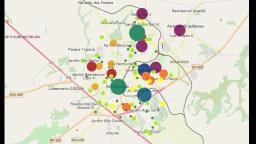 Mapeamento aponta que covid-19 está em todas as regiões de Araraquara