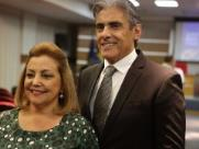 Mara e José Roberto Pereira Alvim - Foto: Murilo Corte / ME