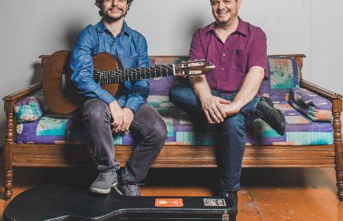 Crédito: Divulgação - Marcelo Silveira e Rodrigo Duarte vem com repertório de música brasileira. Crédito: Divulgação