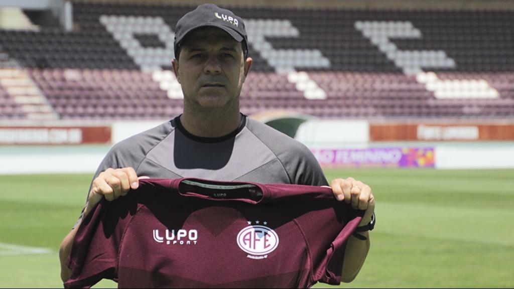 Marcio Griggio será técnico da Ferroviária na Copa Paulista (Foto: Divulgação) - Foto: Divulgação