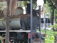 Maria Fumaça Phantom: Locomotiva da Usina Amália doada ao município pelas Indústrias Matarazzo - Foto: Matheus Urenha / A Cidade