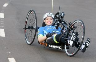 Matheus Urenha / A Cidade - Mariana é a primeira paraciclista de Ribeirão