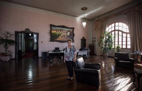 Marilena Rodrigues é a funcionária mais antigado Palácio Rio Branco - Foto: Weber Sian / A Cidade