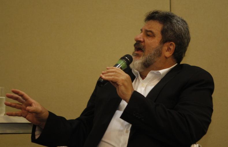 Mário Sérgio Cortella em palestra, em Ribeirão Preto (Murilo Corte/JornalACidade)