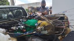 Polícia de Americana detém 44 pessoas por pesca em local proibido