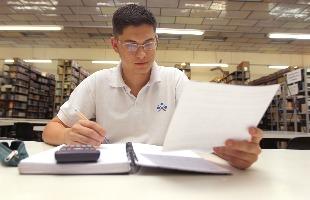 F.L. Piton / A Cidade - Matheus Castro conseguiu cursar a faculdade com a ajuda do Fies