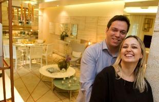Matheus Urenha / A Cidade - A um ano do casamento, os noivos Mayra e Fausto comemoram a aquisição de um apartamento de dois dormitórios na zona Sul de Ribeirão Preto (foto: Matheus Urenha / A Cidade)