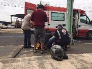 Sucessíveis acidentes envolvendo motociclistas assustam população