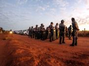 Despejo de famílias do acampamento Novo Horizonte continua