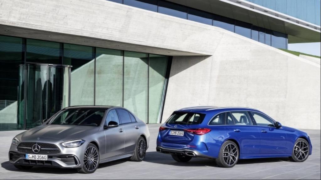 Nova geração do Mercedes Benz Classe C - Foto: Divulgação
