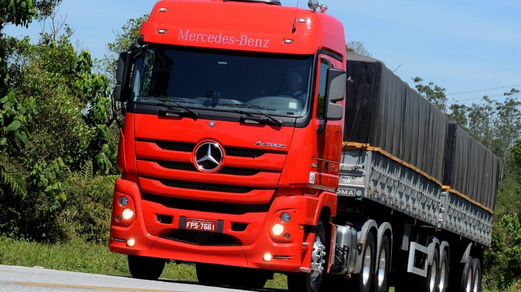 Mercedes-Benz Actros 2651: divulgação - Foto: Auto ON