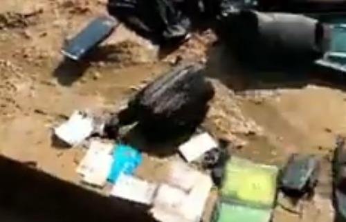 Mergulhador postou vídeo divulgando encontro de pochete - Foto: Reprodução / Redes sociais