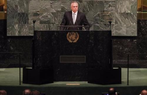 Beto Barata / PR - Michel Temer fez o discurso de abertura da Assembléia Geral da ONU, em Nova York