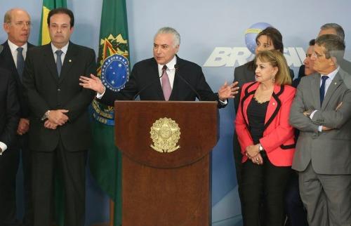 Fabio Rodrigues Pozzebom/Agência Brasil - O presidente Michel Temer fez uma declaração para contestar a denúncia apresentada na segunda-feira (26) pelo procurador-geral da República, Rodrigo Janot