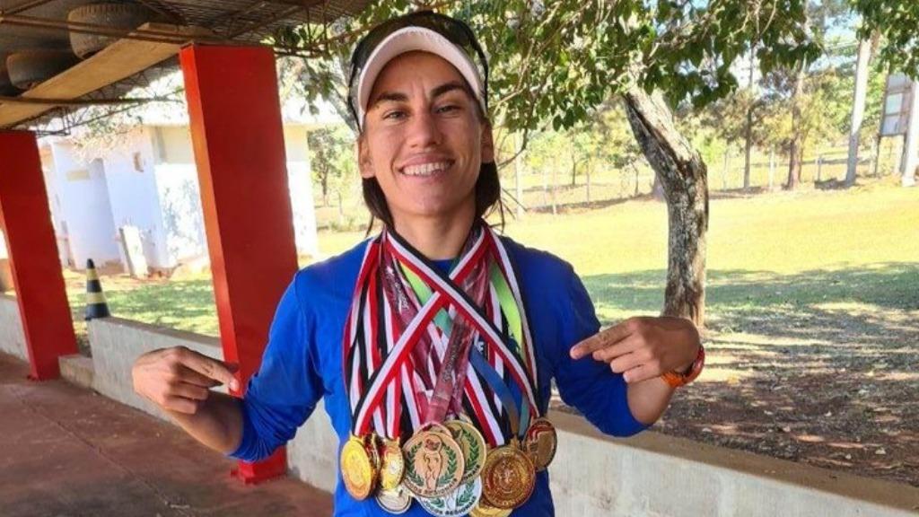 Após conquistar ouro e bronze em São Paulo, Milena Andrade projeta correr novas provas a partir do avanço da vacinação contra a covid (Foto: Divulgação) - Foto: ACidade ON - Araraquara