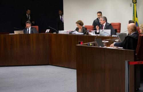 Lula Marques - Ministros durante sessão desta quinta-feira (22)