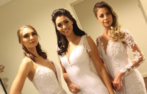 Murilo Corte / ME - As conterrâneas ribeirão-pretanas Fernanda Leme (Miss 2014), Marina Lemos (Miss 2016) e Marcela Araki (Miss 2017); veja mais fotos na galeria (foto: Murilo Corte / ME)