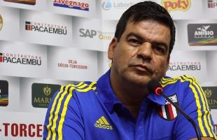 O técnico Moacir Júnior - Foto: Rogério Moroti / Agência Botafogo