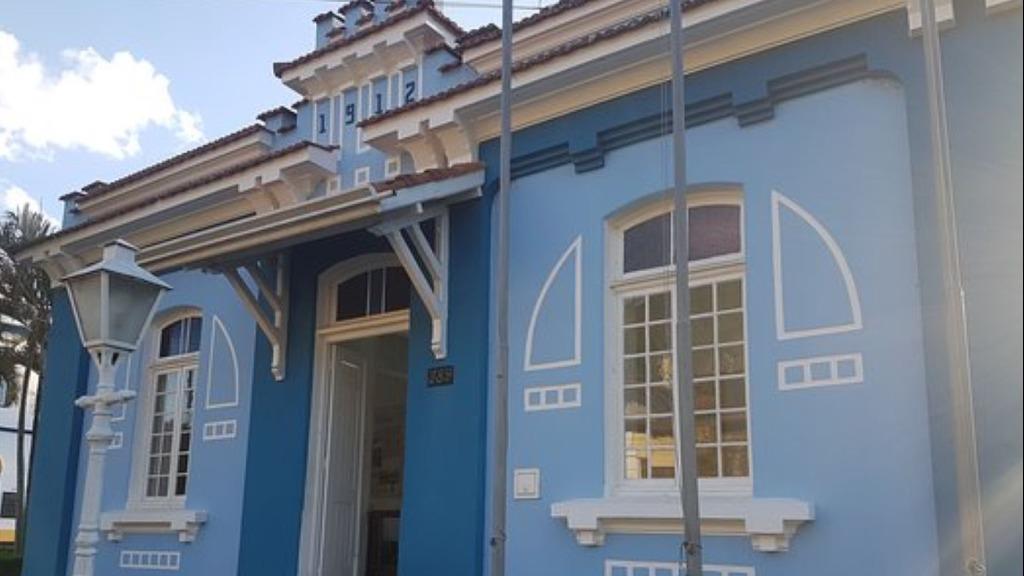 Fachada do prédio do Projeto Memória em Monte Alegre do Sul (Foto: Divulgação) - Foto: Divulgação