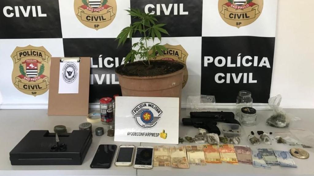 Ação conjunta prende casal acusado de tráfico de drogas (Foto: Reprodução/Facebook) - Foto: Divulgação