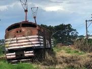 Vagões de trens abandonados em Araraquara acumulam lixo e atraem animais peçonhentos