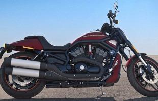Divulgação - Uma das motos em exposição é a Night Rod Special - Velocity Red Sunglo