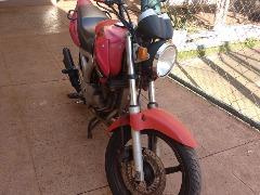 Moto foi recuperada pela PM (Tom Oliveira/ACidadeON) - Foto: Tom Oliveira/ACidadeON