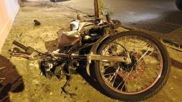 Jovem fica gravemente ferido após queda de moto no Iguatemi