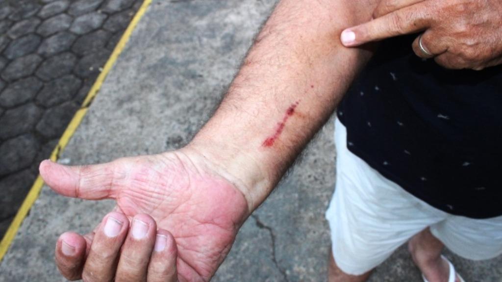 Motorista de aplicativo é assaltado em Matão (Foto: Maury Júnior/Matão Urgente) - Foto: ACidade ON - Araraquara