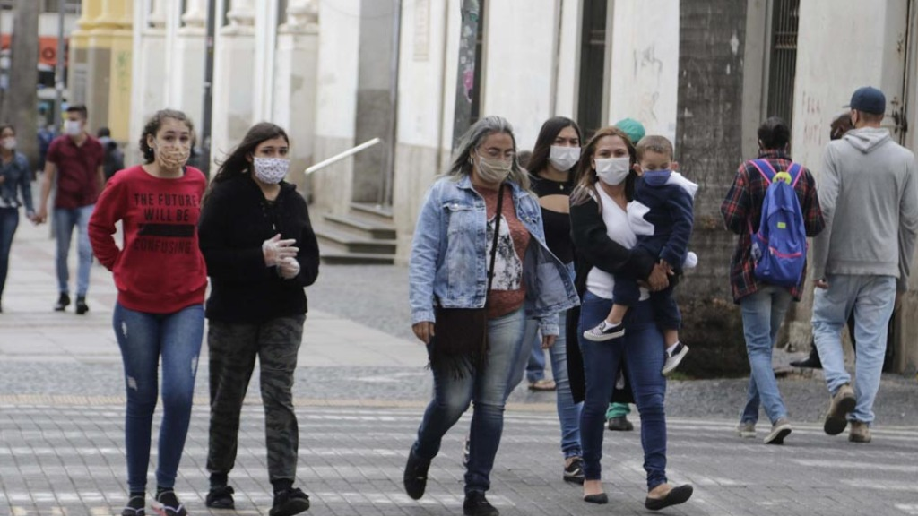 Movimentação no Centro de Campinas durante pandemia (Foto: Código19/Arquivo) - Foto: Código19/Arquivo