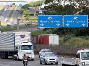 Número de acidentes nas rodovias paulistas registra queda de 14%