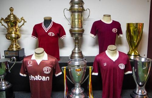 Museu do Futebol 'guarda' as conquistas da Ferroviária (Foto: Amanda Rocha/ACidadeON) - Foto: Amanda Rocha