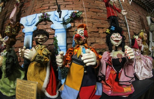 Museu do boneco de Araraquara adere à vaquinha virtual (Foto: Amanda Rocha - A Cidade ON)