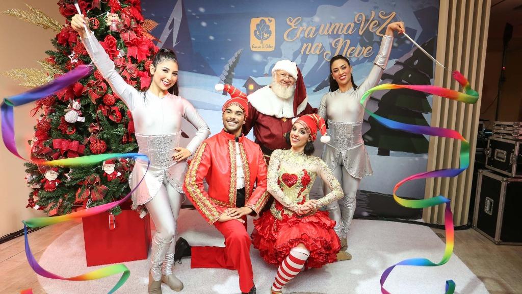Evento de apresentação do Natal 2019 no Parque D. Pedro Shopping - Foto: Guilherme Gongra