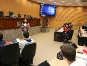 Parlamento Jovem inicia fase de preparação dos alunos