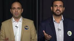 Clima esquenta entre Netto Donato e Julio Cesar em debate
