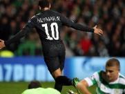 Neymar marca, trio ofensivo brilha e Paris Saint-Germain faz 5 a 0 no Celtic