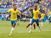 Nunca seleção dependeu tão pouco de Neymar para gols