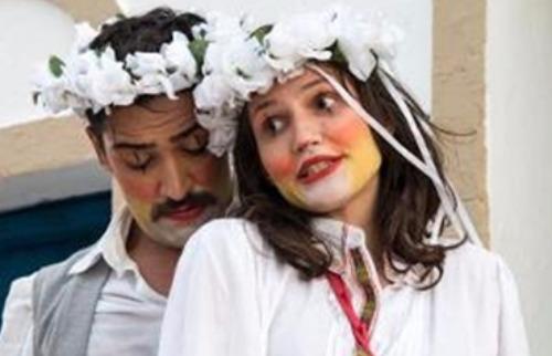 Divulgação - No teatro, o Grupo Tuia apresenta o espetáculo De Chapéu e Coração  Histórias de Paixão