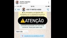 Perfil fake se passa pelo prefeito de Ribeirão Preto no whatsapp